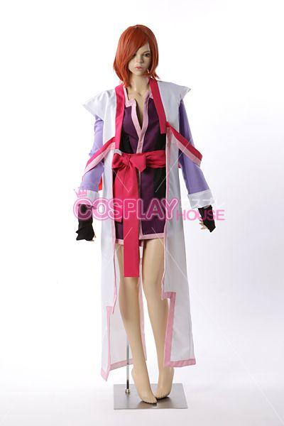 Gundam - Mobile Suit Gundam SEED Destiny - Lacus Clyne Cosplay Costume Version 02, $118.00