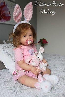feuille de cerise nursery reborn toddler girl lilly kit. Black Bedroom Furniture Sets. Home Design Ideas