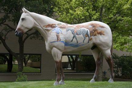 Hoof Prints of the American Quarter Horse Horses, Horse