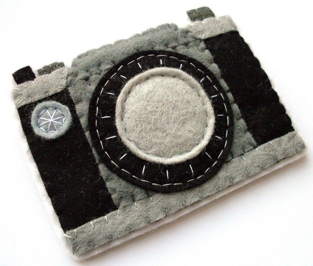 fdcff69e38 broche fieltro forma cámara fotos | manualidades decoracion ...