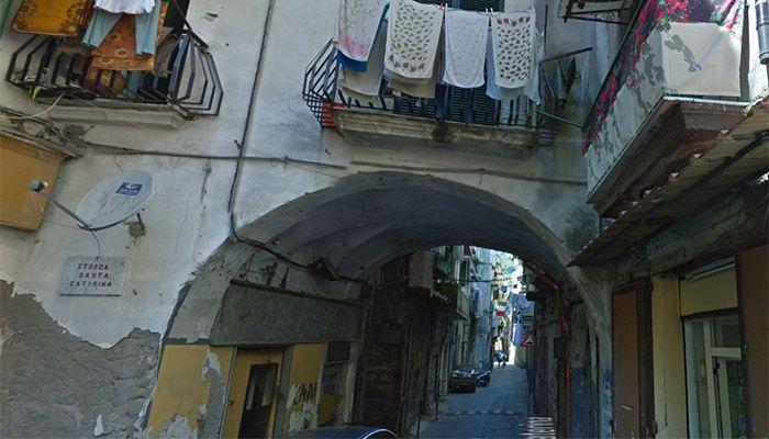 A #Castellammare, #SantaCaterina in #luce - http://go.shr.lc/11NXamD #luminarie #stabia #natale #natale2014 #mercatini #mostra #eventi