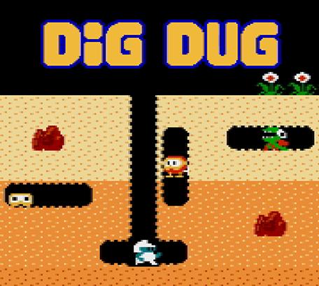 Game Coding DigDug Nes games, Games, Computer video games