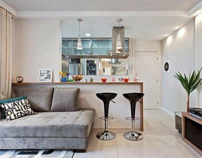 wohnzimmer streichen ideen olivgrün weißes tv sideboard Dream - sofa für küche