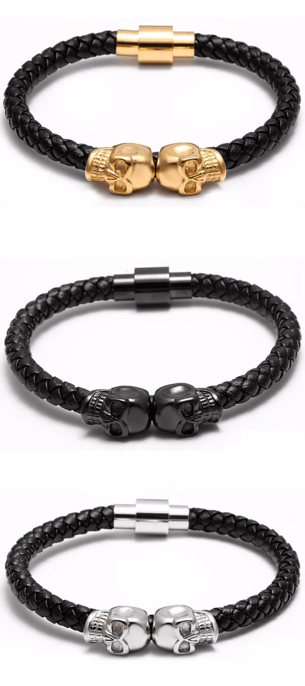 A fresh appearance with this stunning bohemian skull bracelet mt