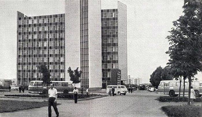Минск, первая половина 70-х (с изображениями)