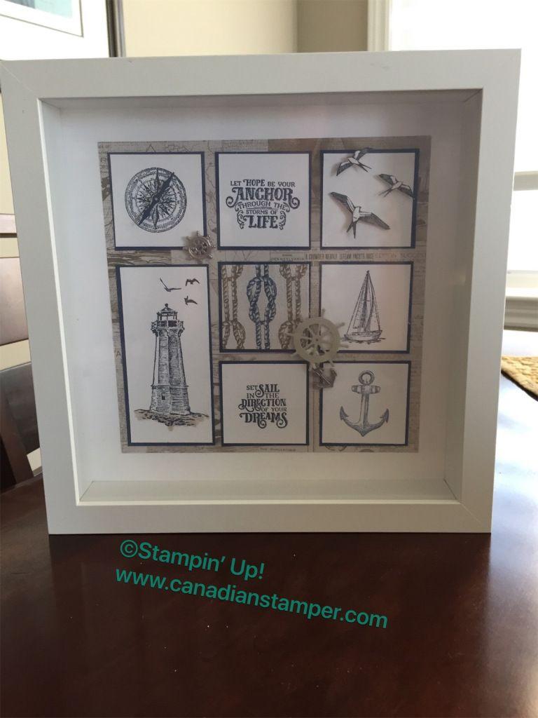 Blog canadian stamper box frame art cards stamping