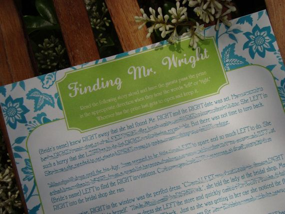 bridal shower game printable finding mr right by madebyaprincess 700