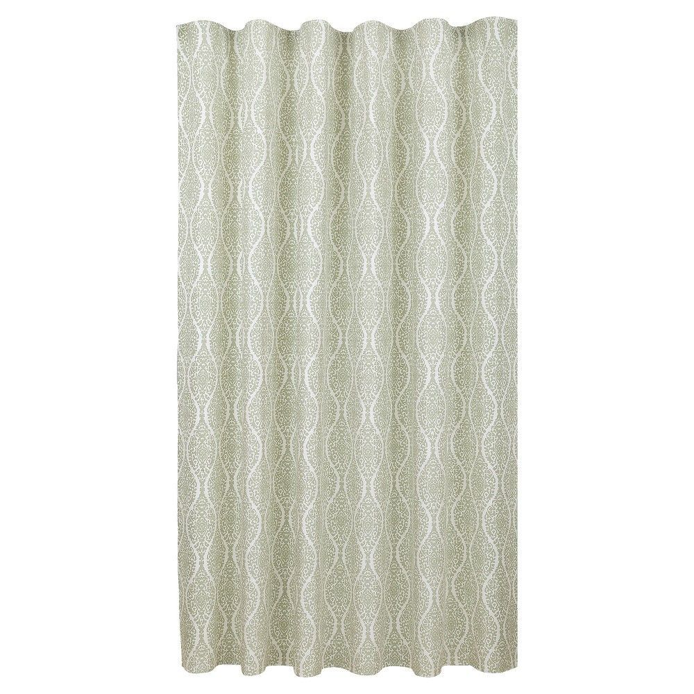 Shower Curtain Natural Green Threshold Forgotten Sage In 2020