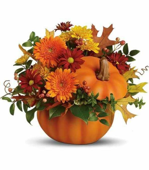 Photo of 70 Herbstblumen als dekorative Blumenarrangements