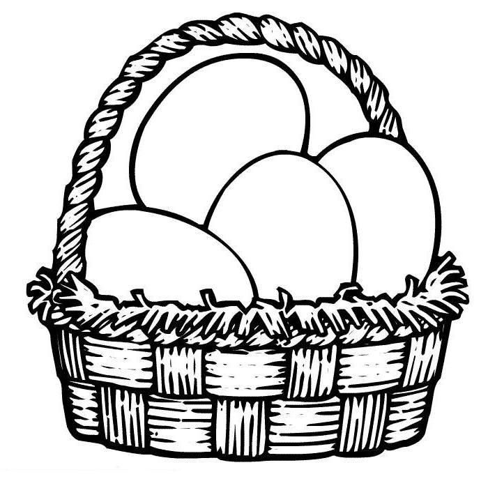 Easter-Egg-Basket-Coloring-Pages (37).jpg (700×700) | Coloring ...