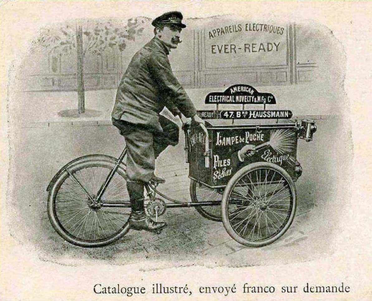 Pin Von Vernon Shaw Auf Vintage Bicycle Ads Catalogs Magazines Promotionals Lastenfahrrad Oldtimer Fahrrad