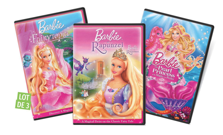 Barbie Collection 3 Dvd Duree 229 Minutes Langue Francais