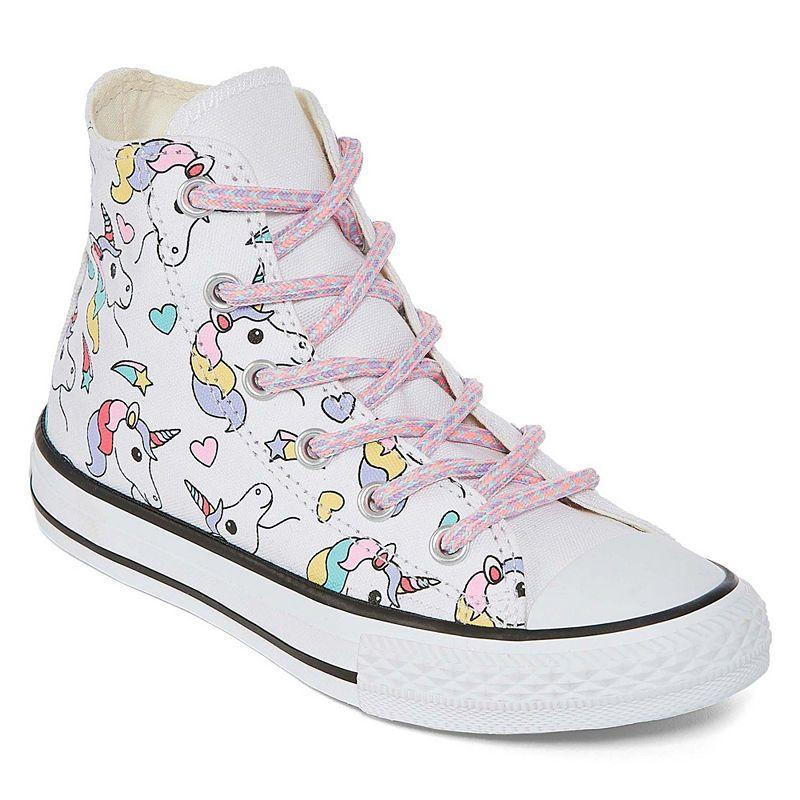 Converse Chuck Taylor All Star Hi Rainbow Unicorn Lace up