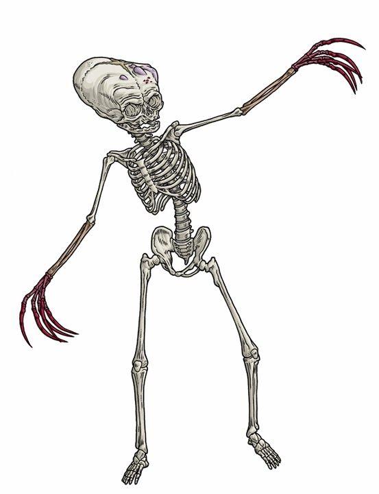 Horror Esquelético, tercer avatar de Nyarlatothep (ADN 3), el Caos ...