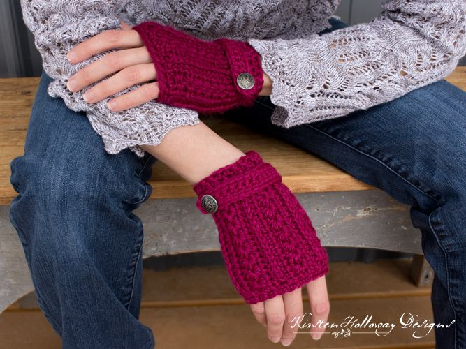 Heartstrings Fingerless Gloves - free crochet pattern | Big girls ...