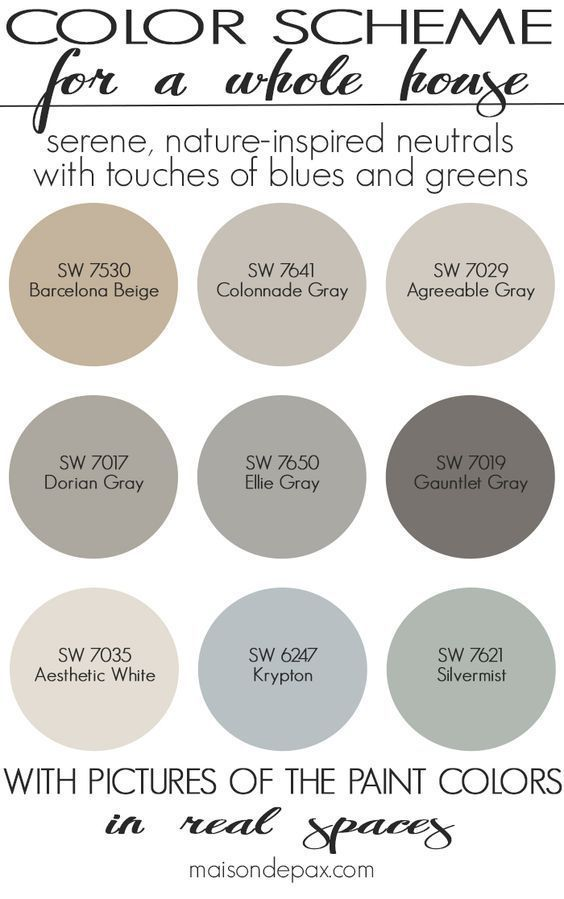 paint color home tour nature inspired neutrals color it beautiful rh pinterest com