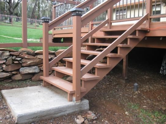 6 Step Pressure Treated Pine Stair Stringer 106072 The Home