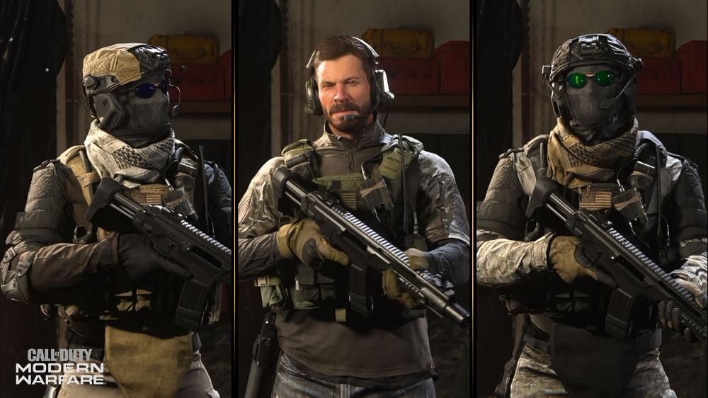 call of duty modern warfare ghost operator
