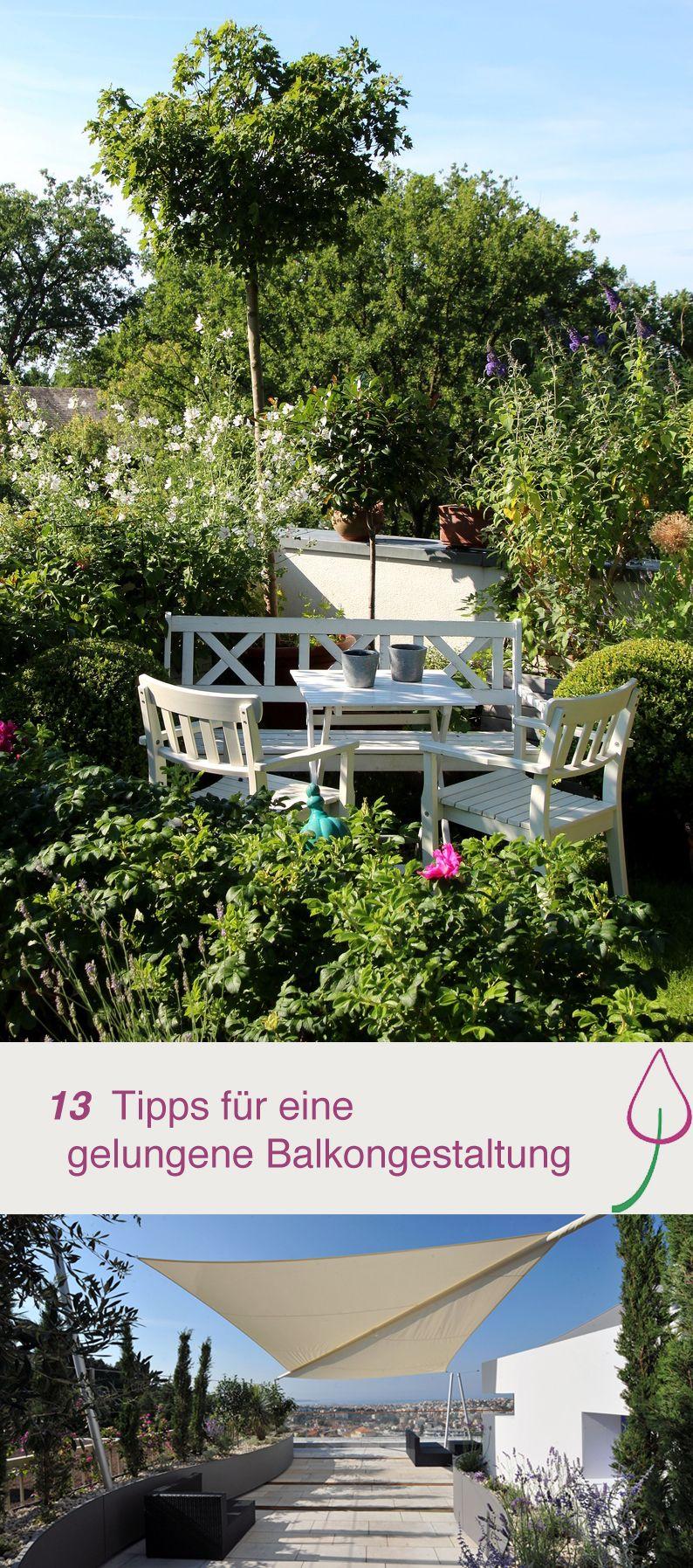 tipps für eine gelungene balkongestaltung | dekoration, Gartengerate ideen