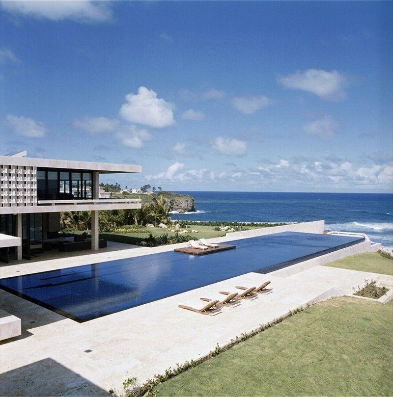 26 Maisons De Reve Avec Piscine Beach House Design Luxury Beach House Beach House Plans