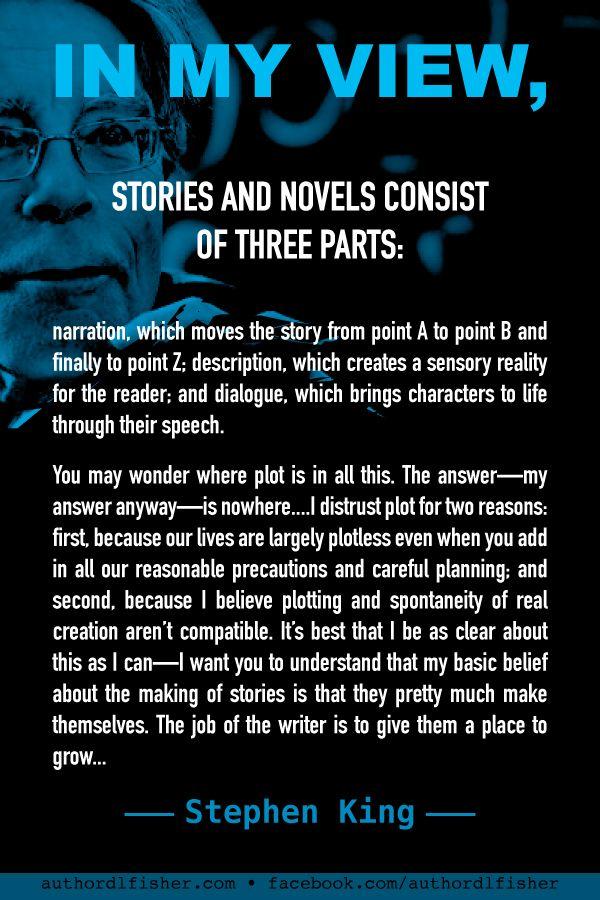 Stephen King on Writing Plot