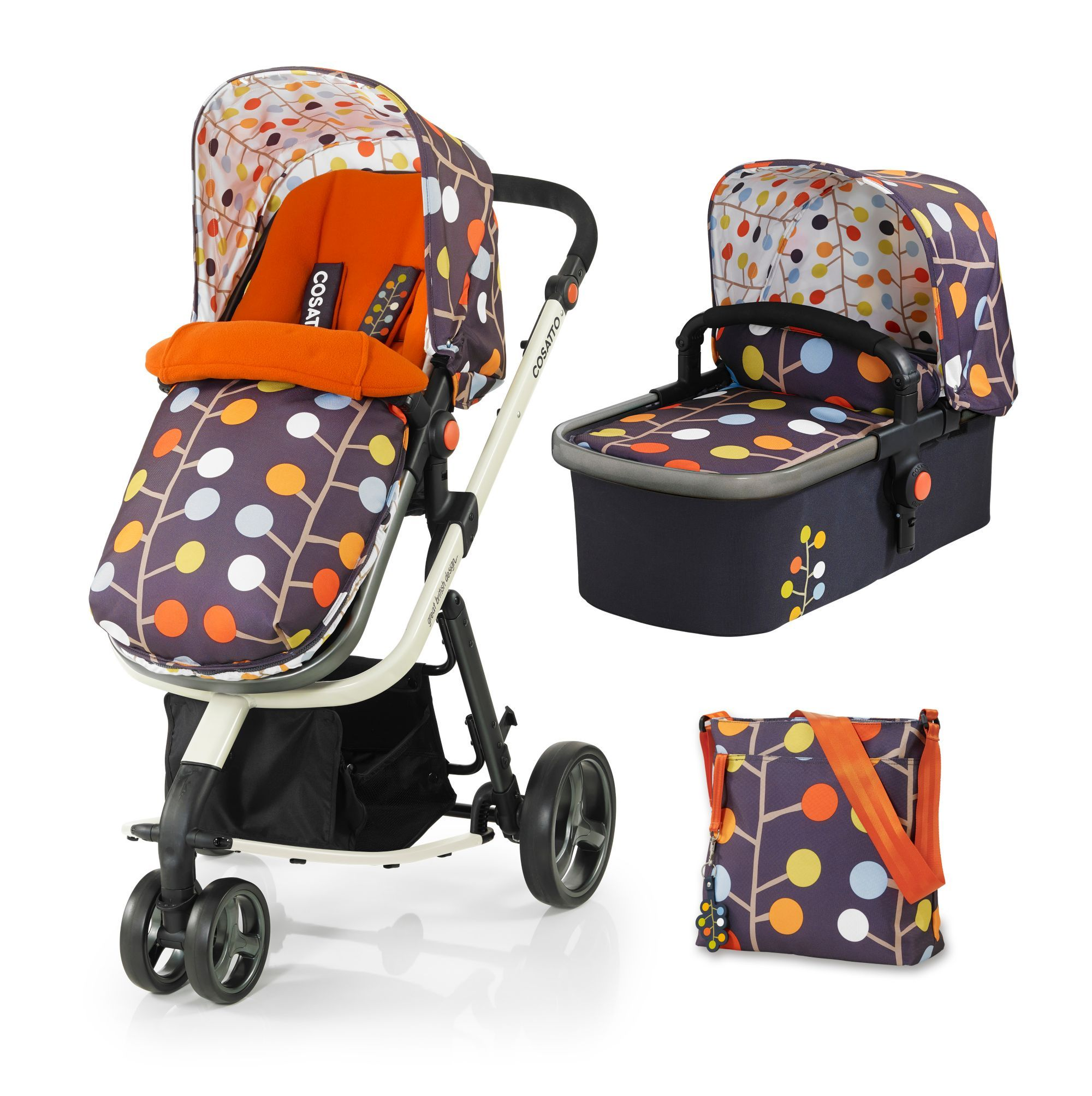 Cosatto Giggle 3 In 1 Travel System Fable Someday