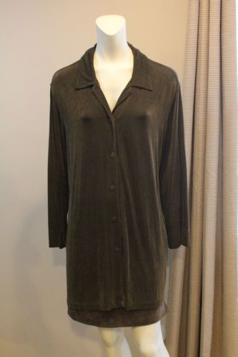 Chicos-Travelers-3-16-18-Olive-Green-Long-Tunic-Button-Jacket