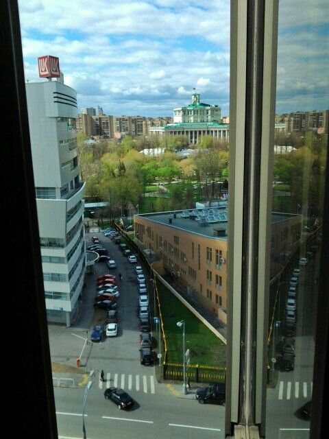 Moscow from my window