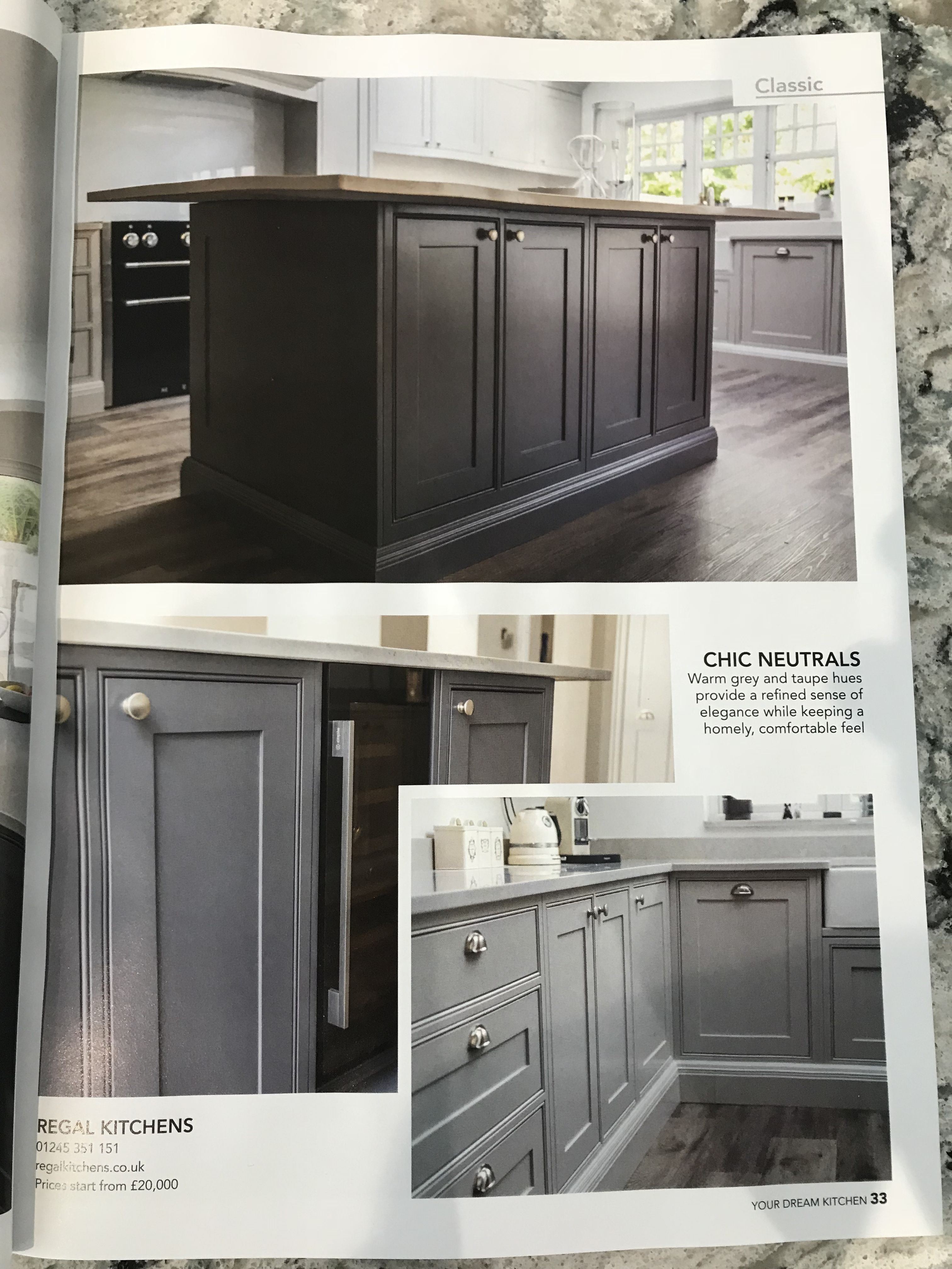 Kitchen Magazines Solid Wood Toy Very Pleased With Our Feature Piece In Your Dream November Issue