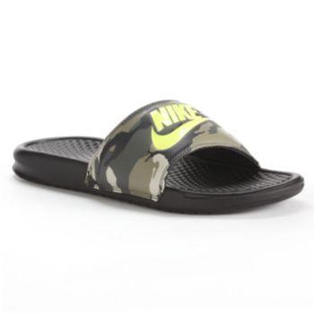 d0c7129df35b Nike Benassi JDI Camouflage Slide Sandals - Men