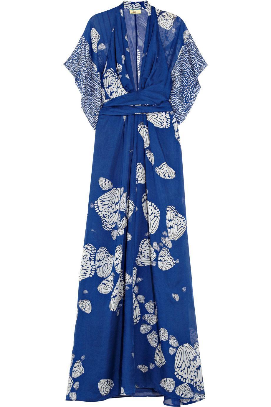 f3107b057c3 Issa printed silk-georgette maxi dress  THEOUTNET5