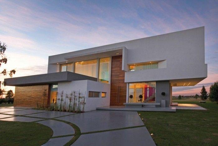 Moderne Hausfassaden moderne fassaden noch eine ungewöhnliche idee für hausfassade