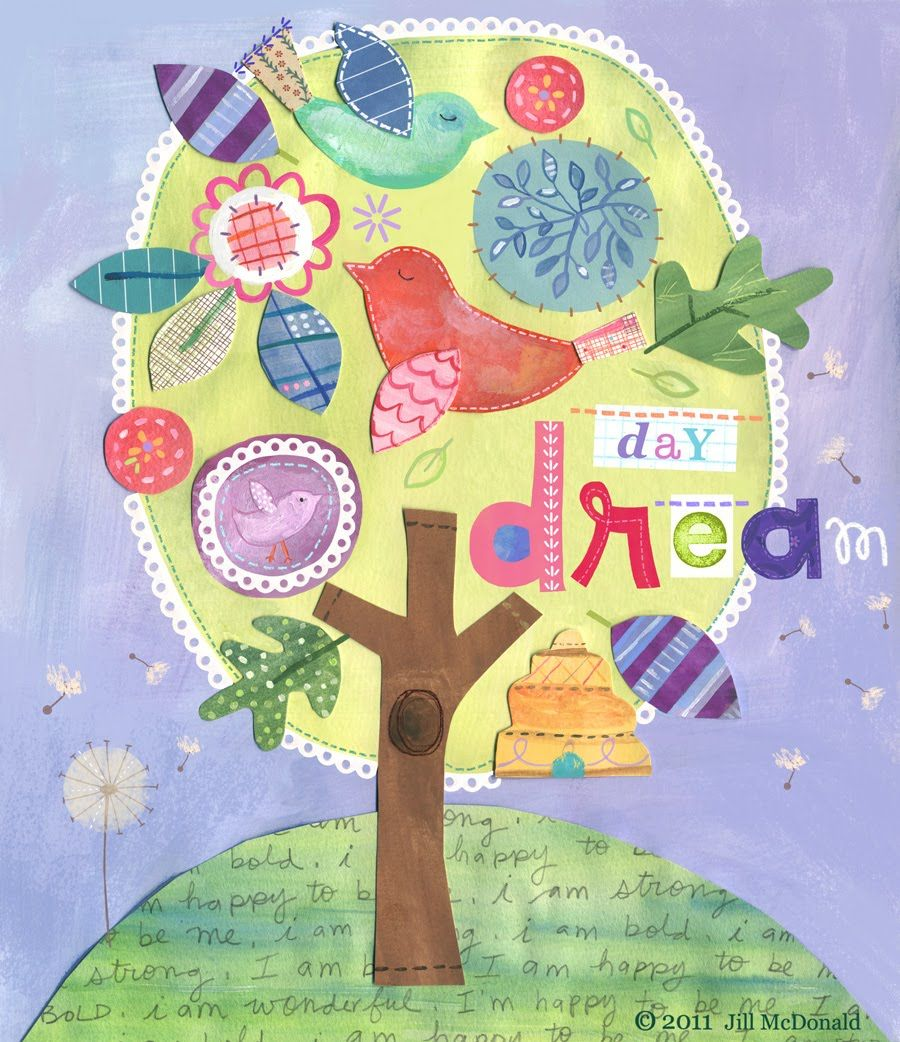 Jill McDonald Birds in tree | Kids Designs | Pinterest | Mcdonalds ...