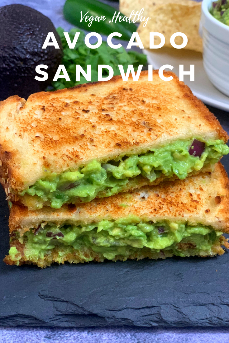 Guacamole Sandwich Recipe Recipe In 2020 Breakfast Brunch Recipes Sandwich Recipes Indian Recipes