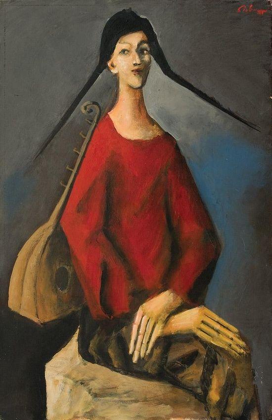 Harlequin - Mircea Ciobanu 20th century