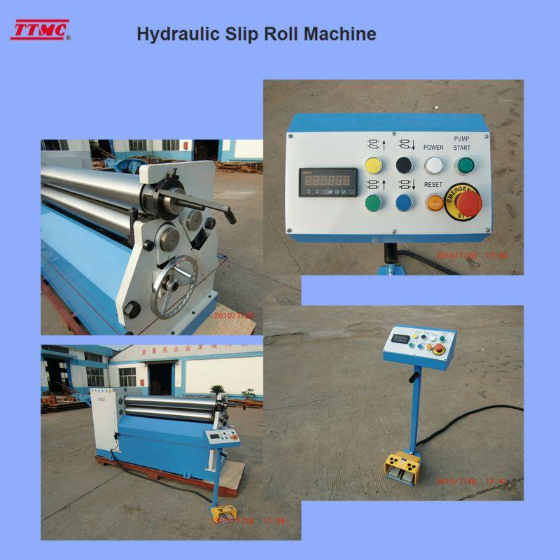 High Quality Electric Slip Roll Machine Esr1300x1 5e China Factory Ttmc View Sheet Metal Slip Roll Machine Ttmc Hydrau Hydraulic Manufacturing Metal Working