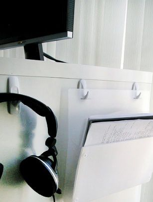 Clear Desktop Space With a Side-Desk Paper Organizer