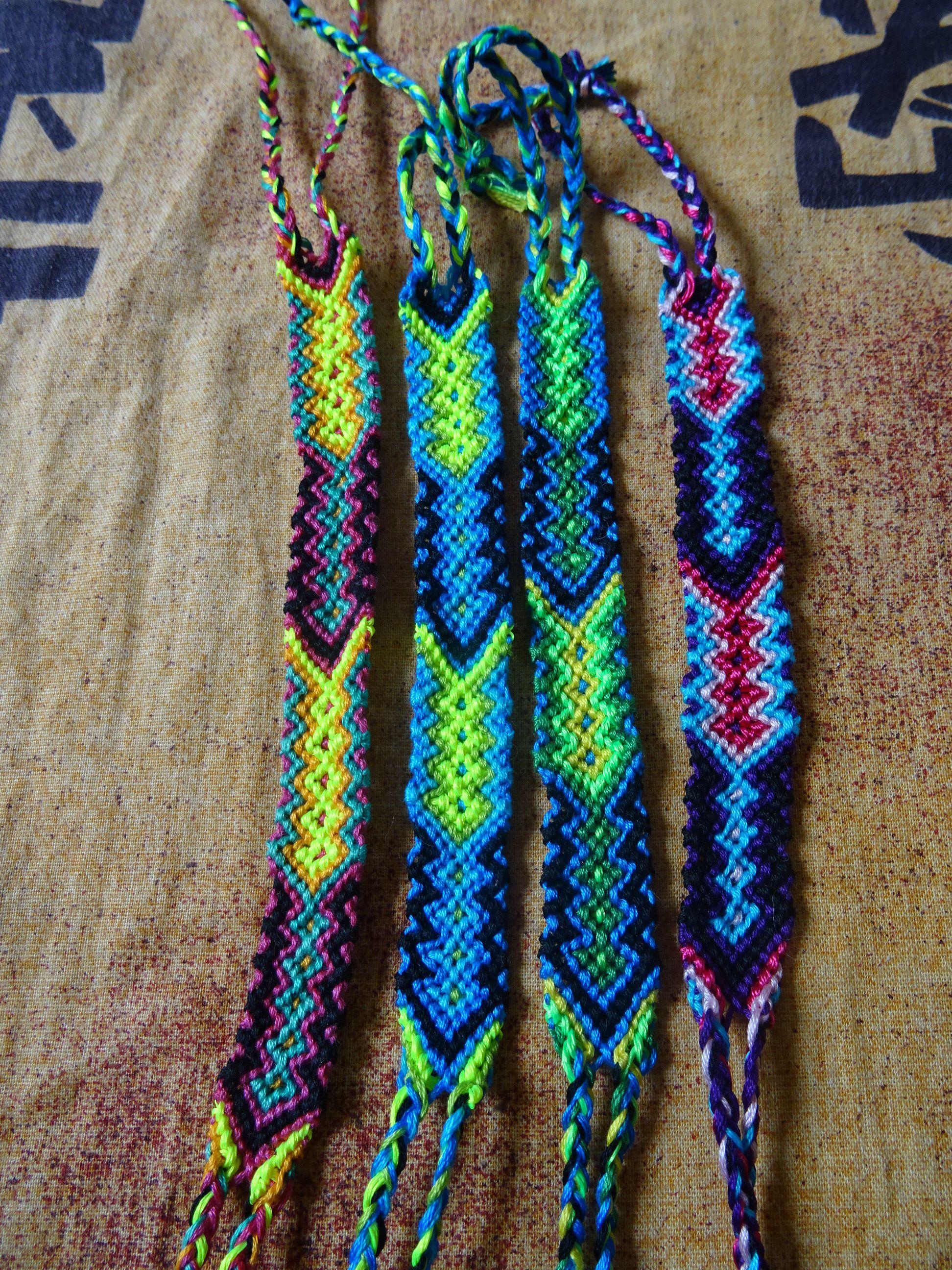 coton bracelet bresilien