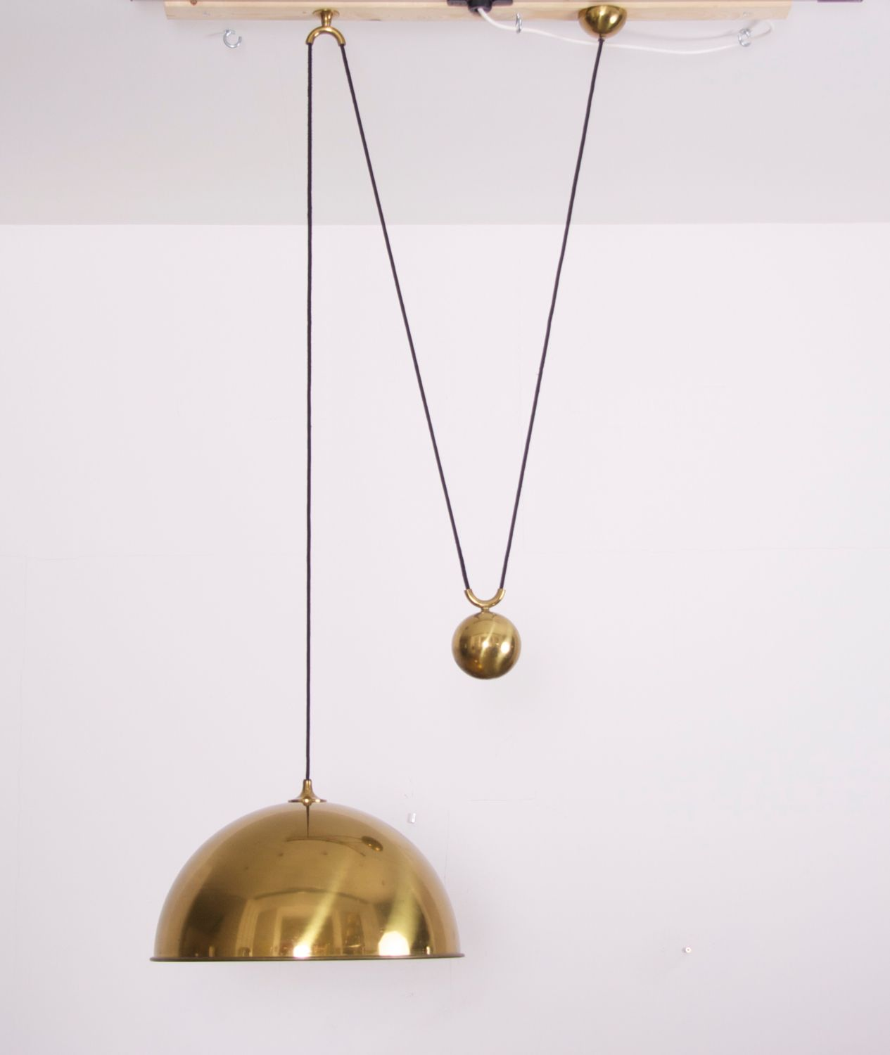 Rare extra large florian schulz posa side counterweight pendant rare extra large florian schulz posa side counterweight pendant lamp from a mozeypictures Image collections
