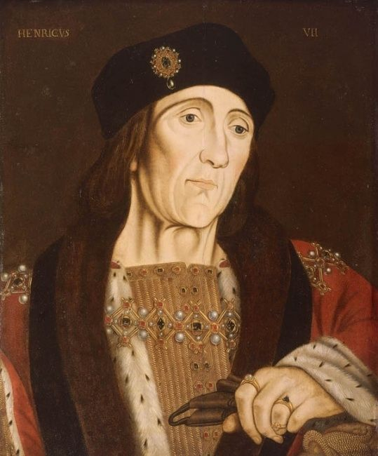 King Henry VII, father of Henry VIII and Arthur, Prince of Wales ...