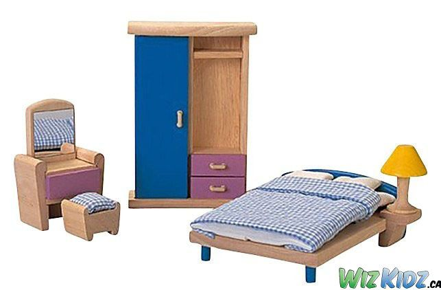 @plantoys Neo Dollhouse Furniture - Bedroom. #kids #toys #dolls