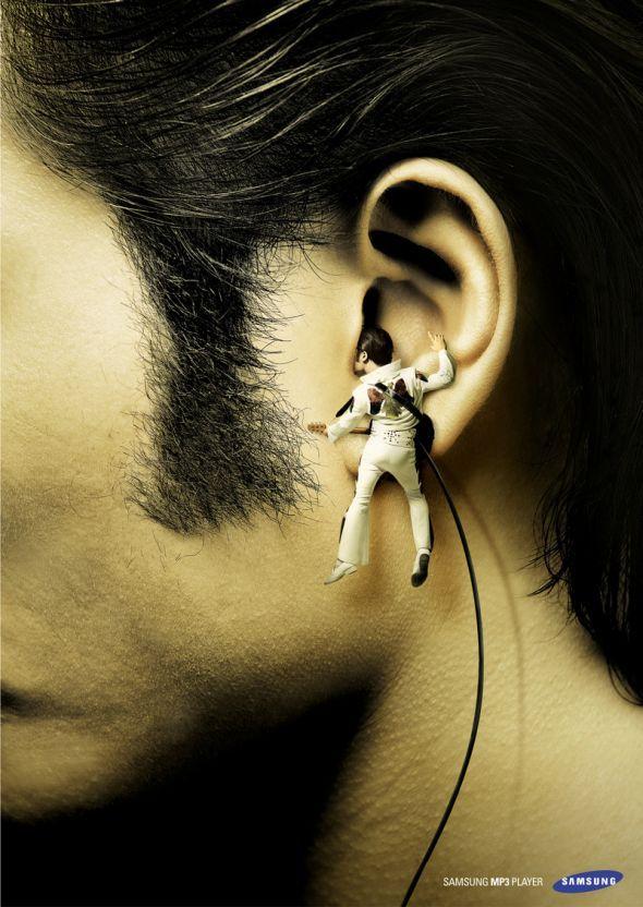 Samsung MP3 Player: Elvis | Ads of the World™