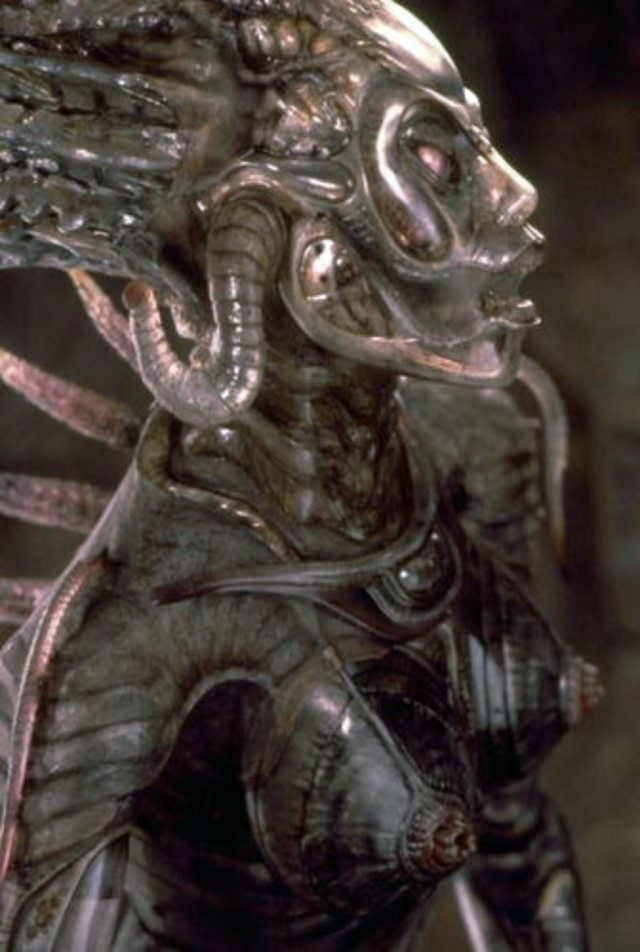 Sil From Species Was A Alienhuman Hybrid  Hr Giger, Horror Chicks, Giger Art-9626