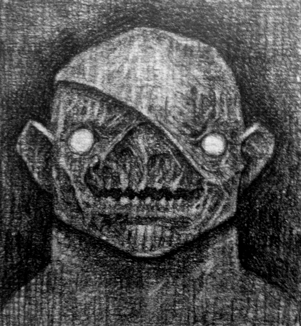 Still not at home, so I might take a better shot of this later on, was a treat to draw the troll yesterday, so I continued on with my technique      for graphite rendering, this one went...