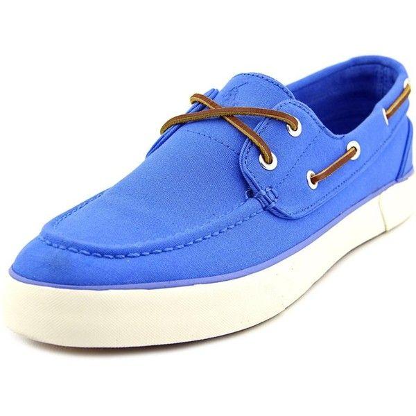 Polo Ralph Lauren Polo Ralph Lauren Sander Moc Toe Canvas Boat Shoe ($30) ?