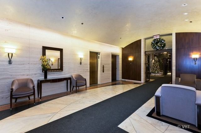 Condo Lobby Pictures | The lobby for condos at Water Place Tower, as seen in the listing for ...