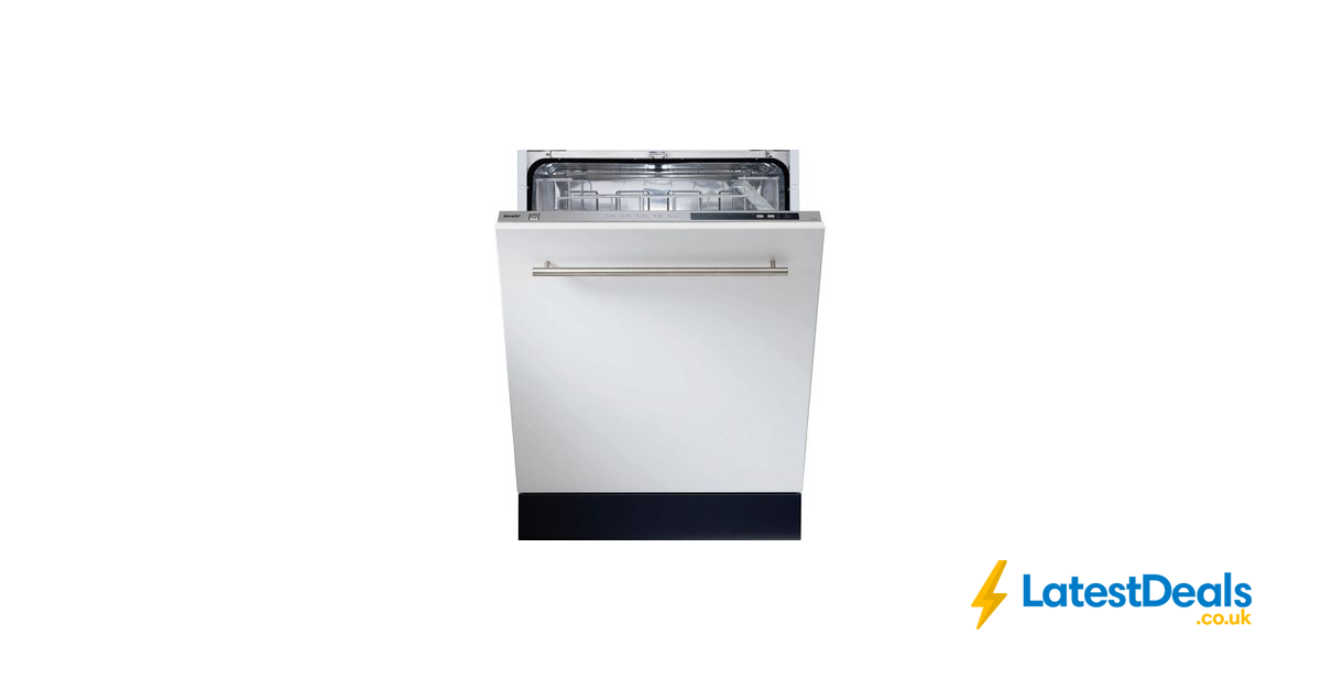 Sharp Full Size Integrated Dishwasher 199 At Currys Pc World