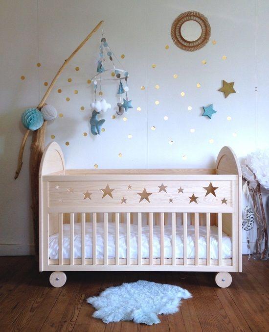 Como Hacer Faldones Para Cunas De Bebes Todo Manualidades Cunas Para Bebes Decorar Habitacion Bebe Baby Diy