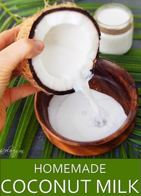 Homemade Coconut Milk Recipe Resep Masakan Untuk Anak Coconut Milk Recipes Coconut Milk Benefits Coconut Benefits
