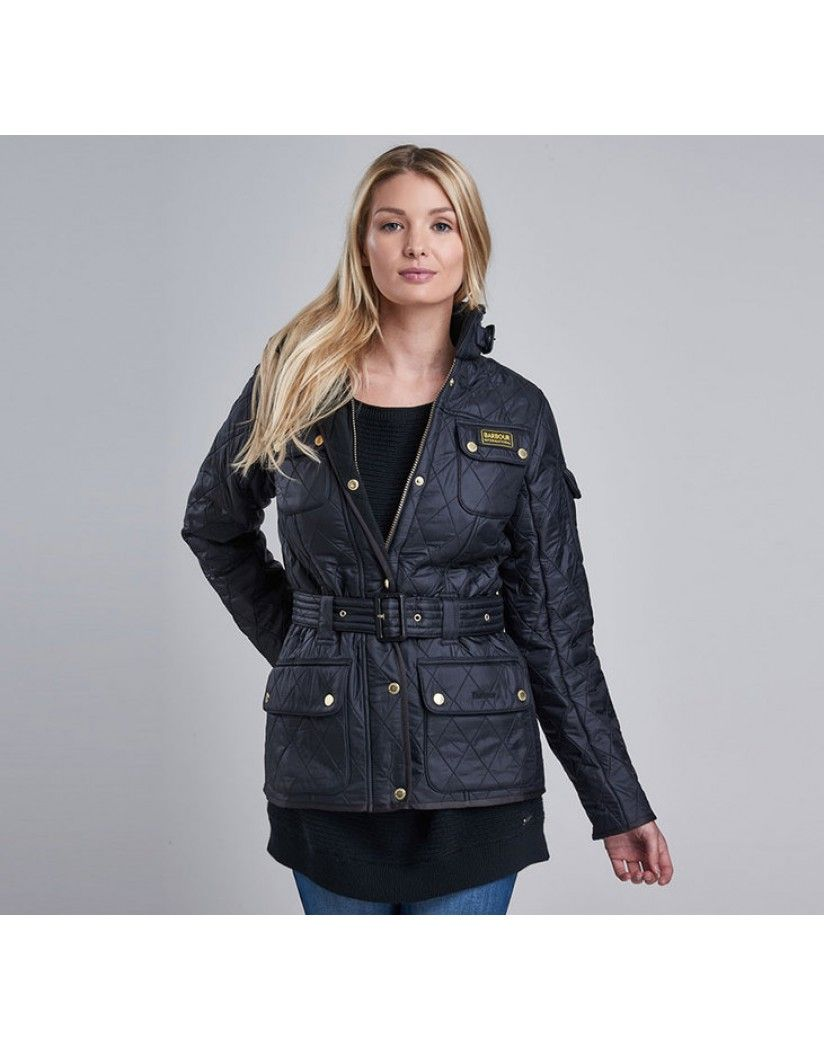 888a3847e Barbour International Women's Polarquilt Jacket - Black | Country ...